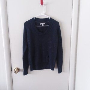 Old Navy Metallic Wool Blend Knit V-Neck Sweater